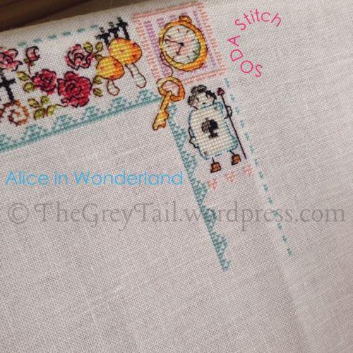 WIP - SODA Stitch - Alice in Wonderland